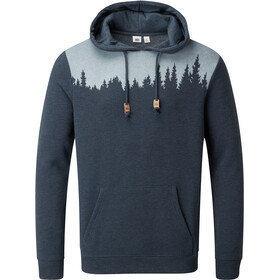tentree Juniper Classic Huppari Miehet, dark ocean blue heather